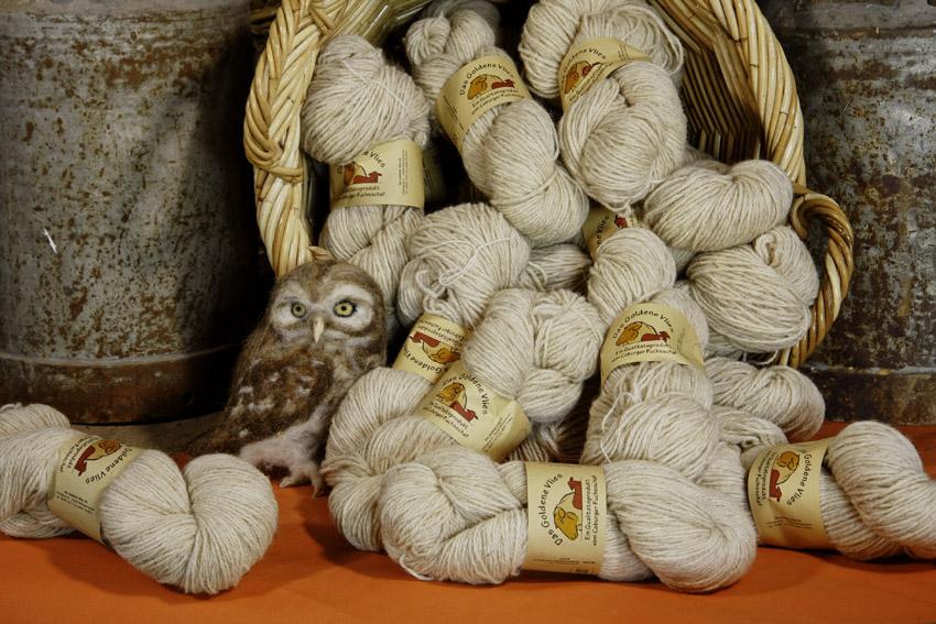 Strickwolle natur| 100 % Schurwolle
