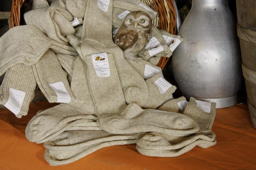 Socken aus 100 % Schurwolle